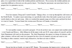 Sentence Beginning Identification Practice