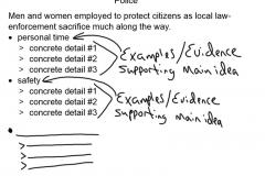Sample Outline Beginning